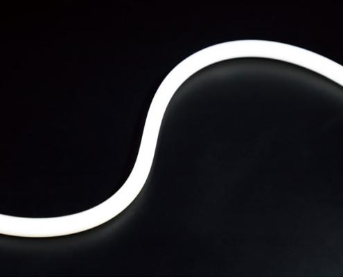10x10mm curve top view neon light