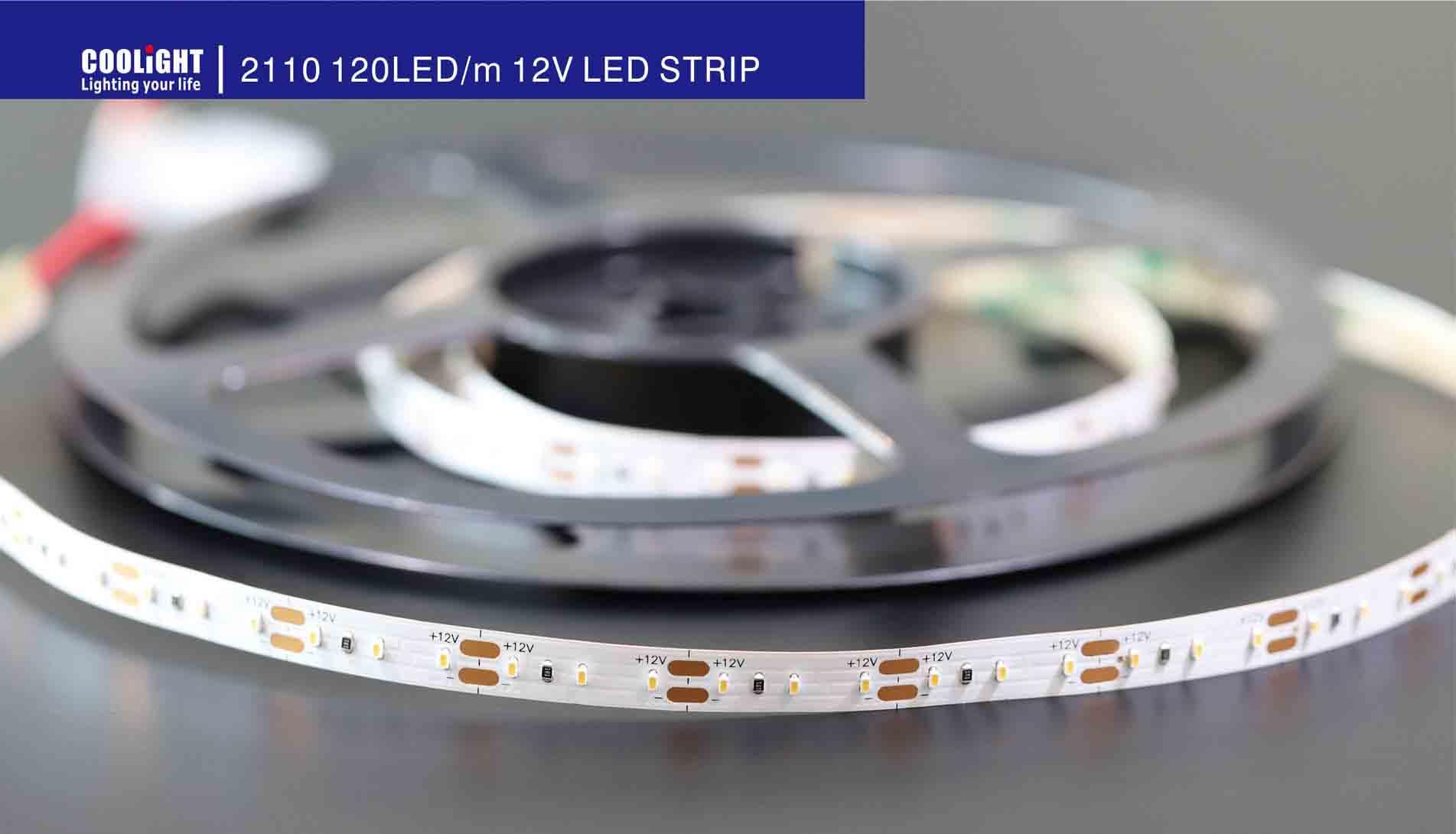 2110 120led 12v led strip