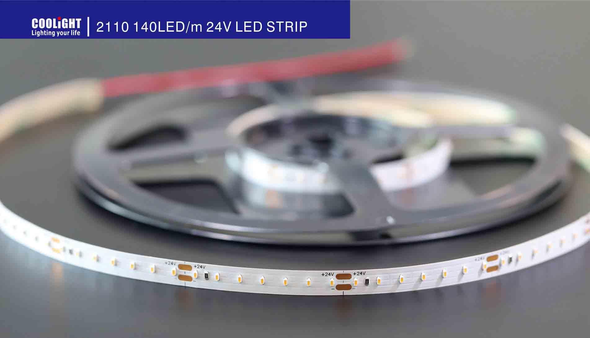 2110 140led/m 24v led strip