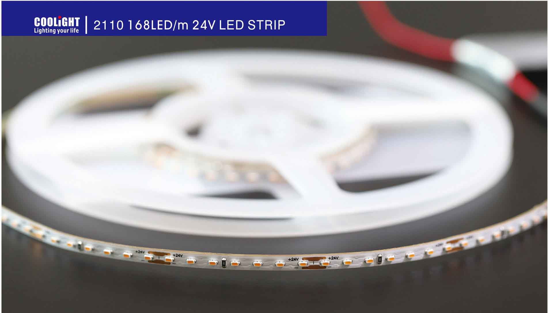 2110 168led 24v led strip