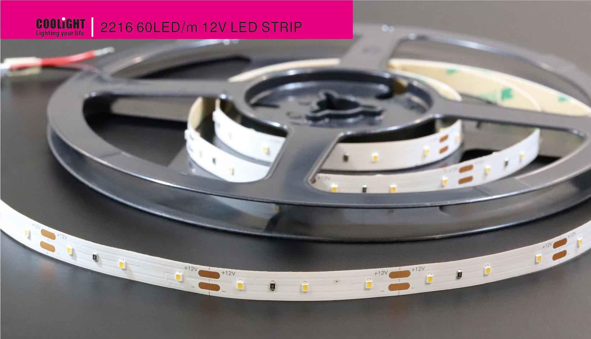 2216 60ledm 12v led strip
