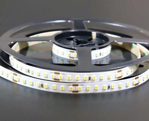 2835 128led/m 24v cri80 10mm led strip