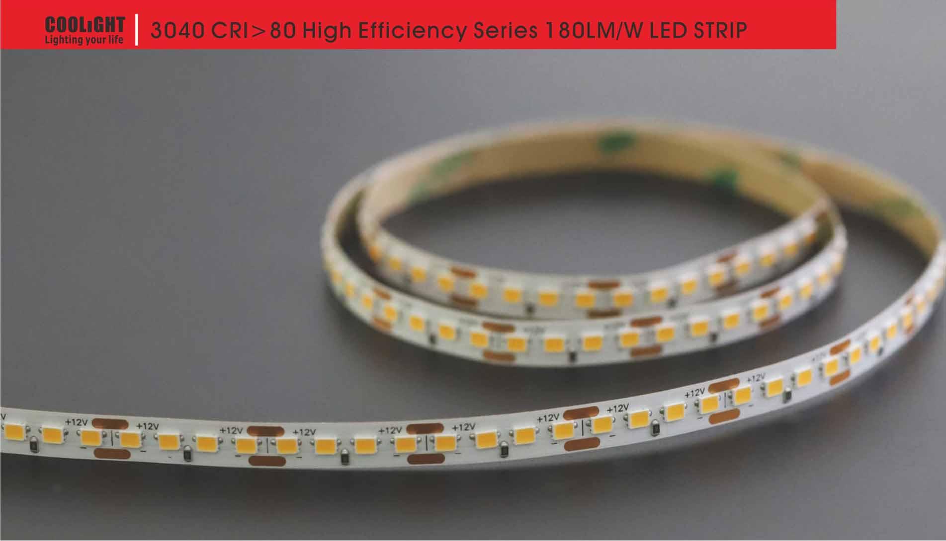 3040 160led/m 12v 9.6w led strip