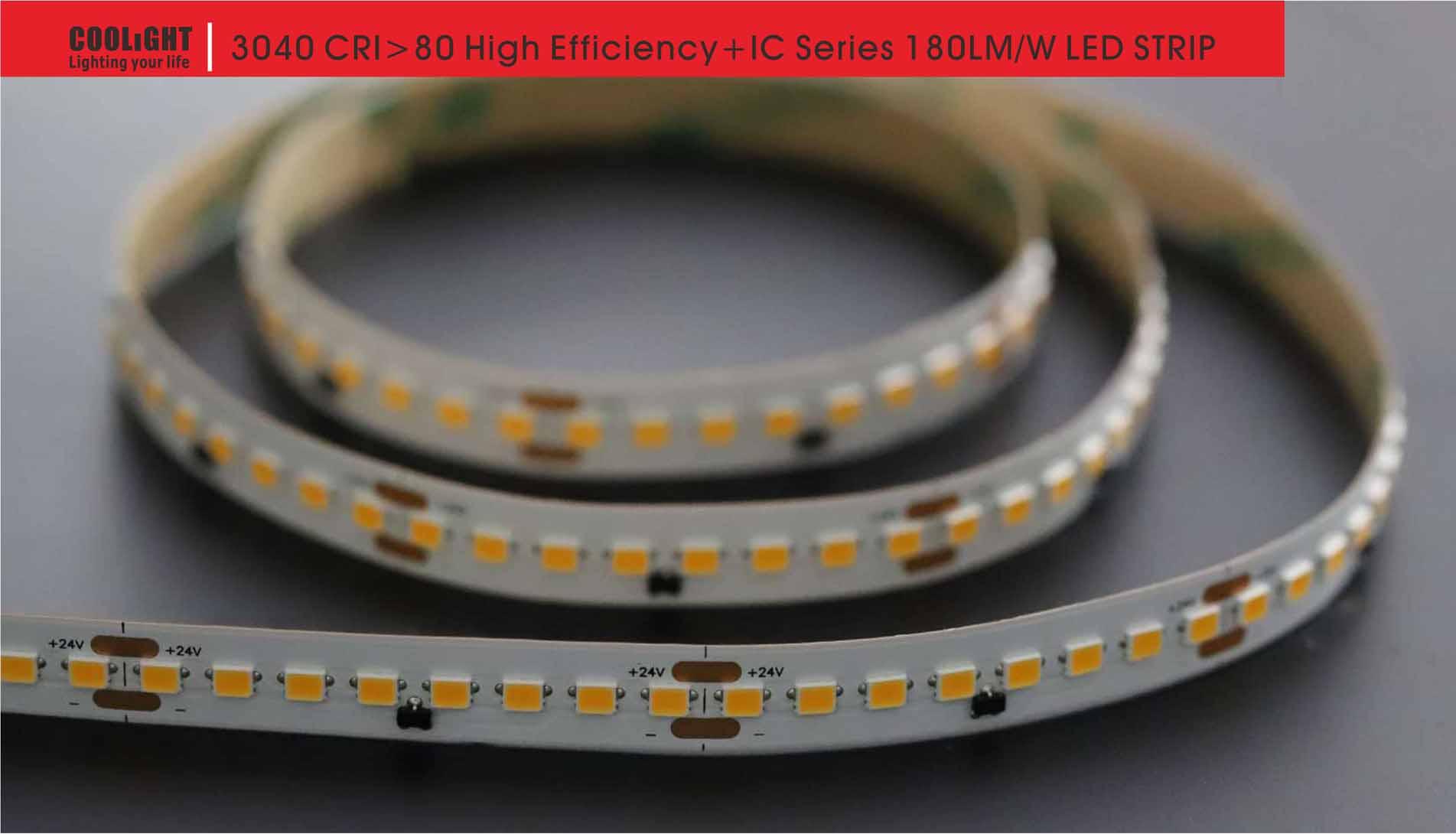 3040 160led/m 24v 19.2w led strip