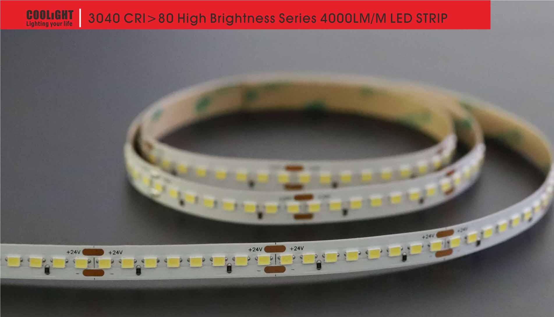 3040 160led/m 24v 26w led strip