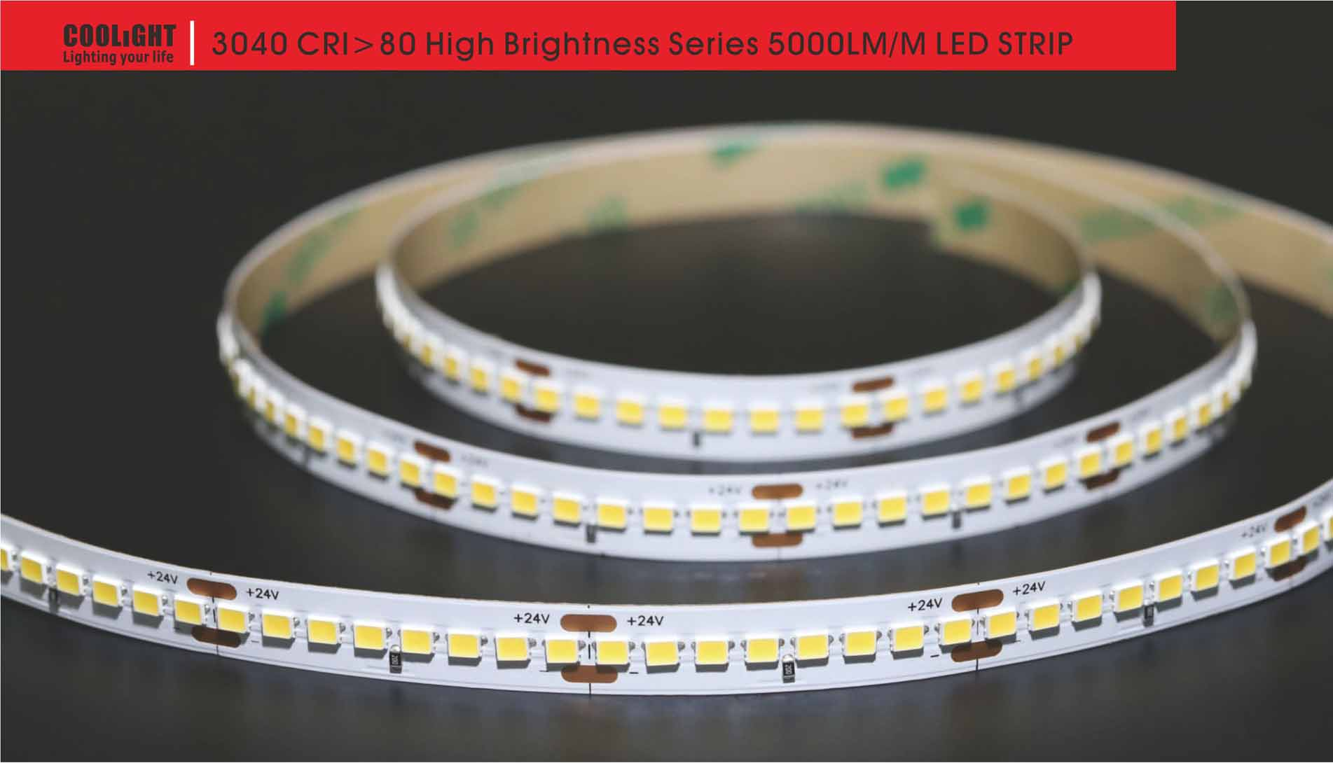 3040 192led/m 24v 34w led strip