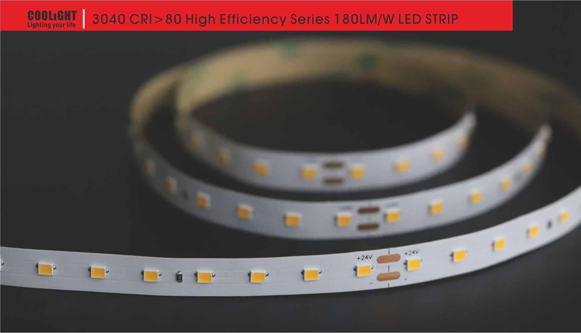 3040 80led/m 24v 14.4w led strip