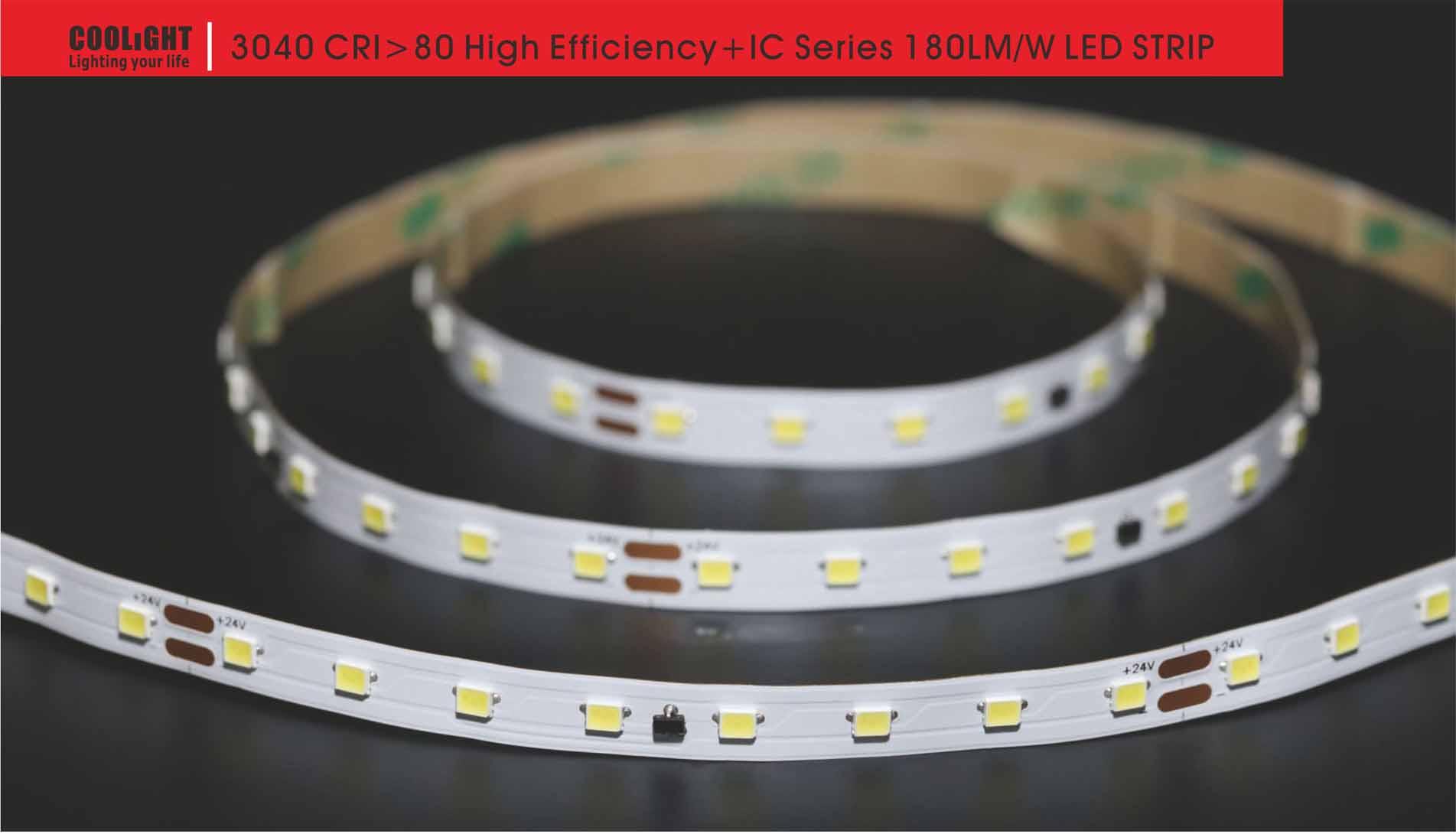 3040 80led/m 24v 4.8w led strip