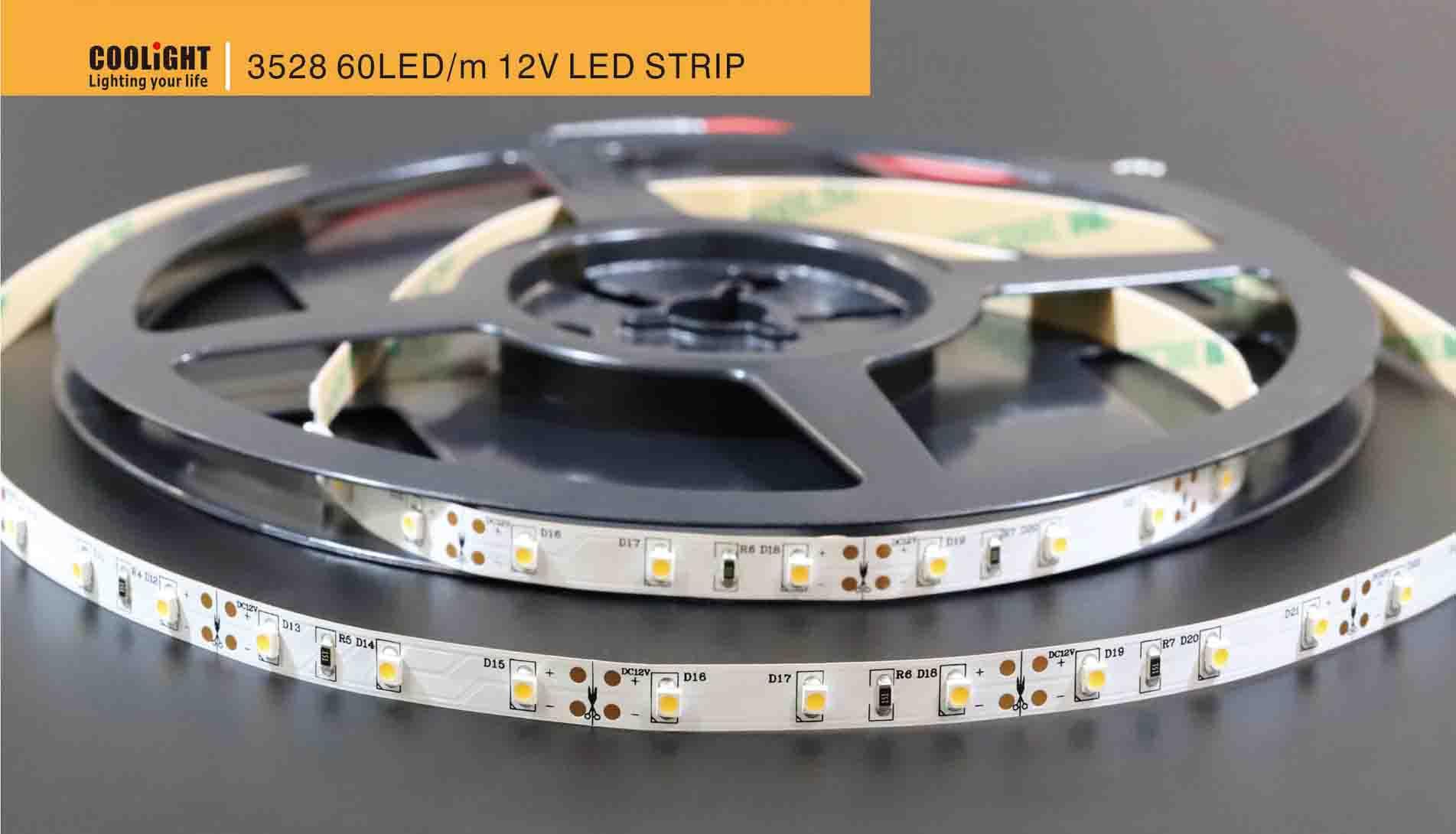 3528 60led/m 12v led strip
