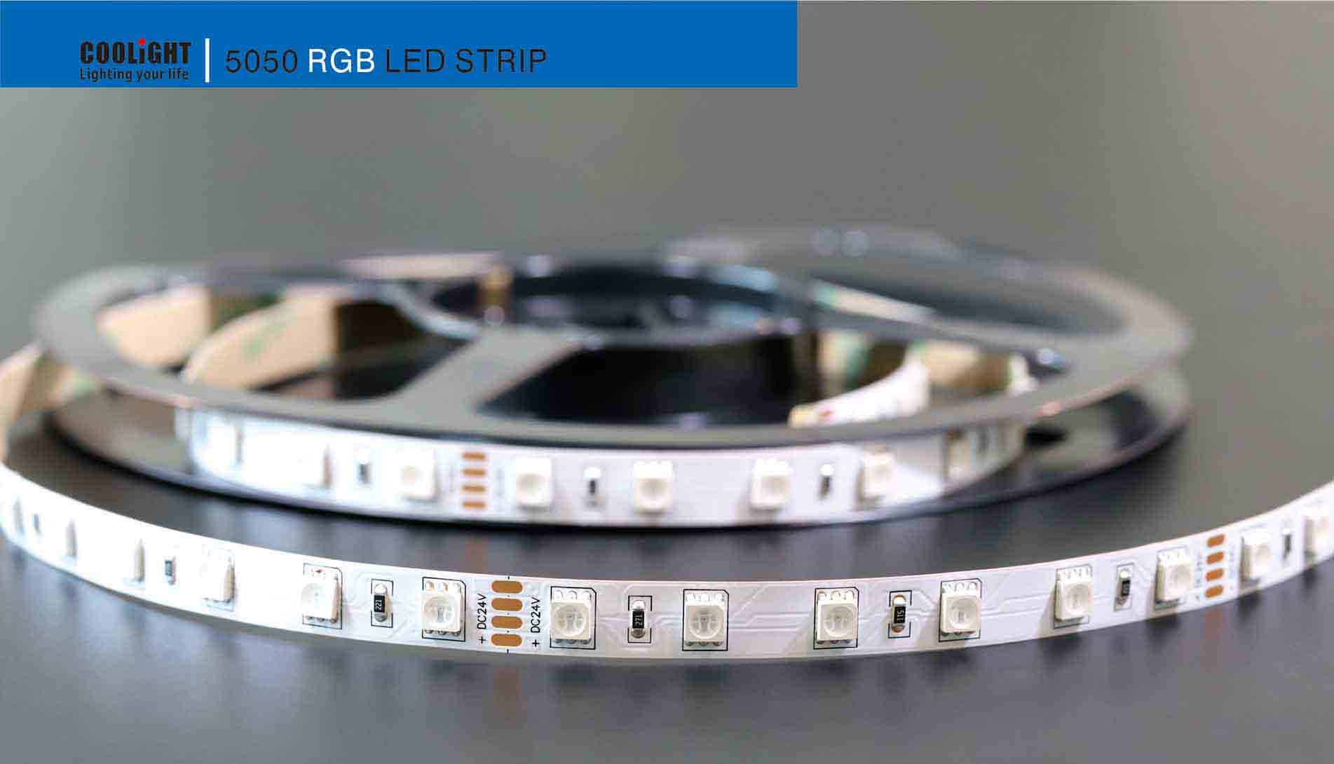 5050 60led/m 24v rgb led strip