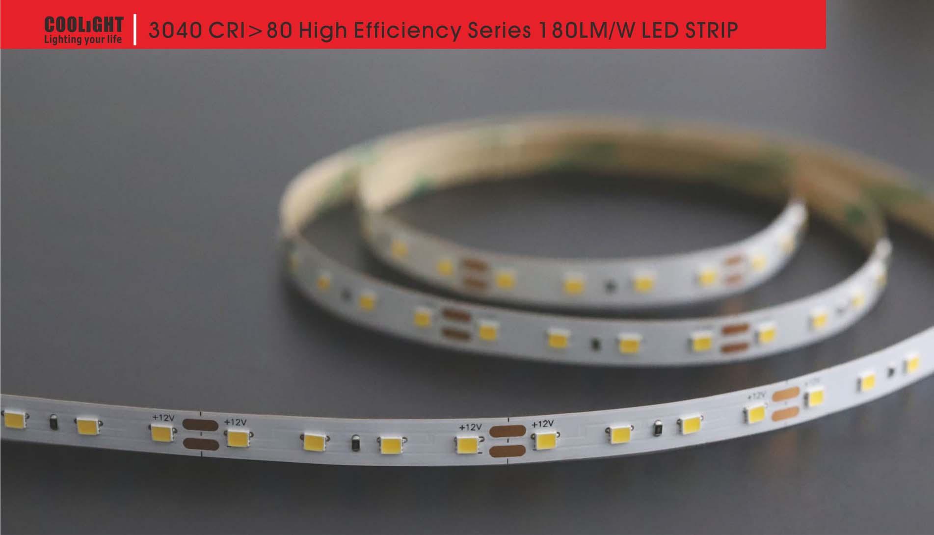 3040 80led/m 12v 4.8w led strip
